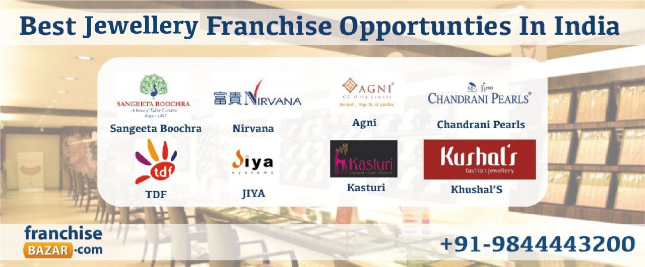 Best jewellery franchise in india